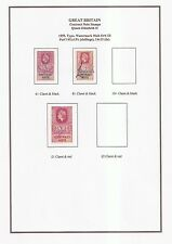 GREAT BRITAIN - CONTRACT NOTE STAMPS- 1888-1983 -  PAGES TO PRINT-PDF