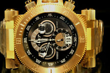Invicta 17642 Coalition Forces Black Dial 18KT Gold Plated Chronograph ToneWatch
