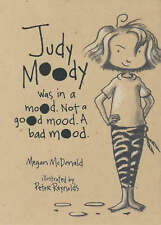 JUDY MOODY WAS IN A MOOD - BOOK BY MEGAN McDONALD (PAPERBACK)
