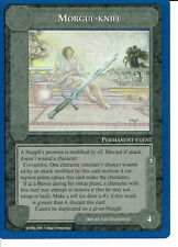 MIDDLE EARTH BLUE BORDER PREMIER RARE CARD MORGUL-KNIFE