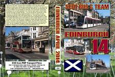 2840. Edinburgh. UK. Buses and Trams.April 2014. In face of a superb bus system