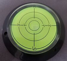 Large Spirit Bullseye Bubble Surface Level- Bullseye Circular Caravan Vial Round