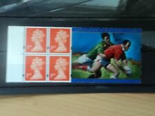 GB 1999 Rugby World Cup Wales Commemorative Label only MNH SG 1667m from HB18