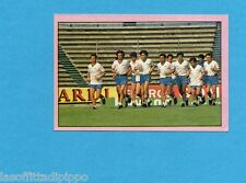 PANINI CALCIATORI 1985/86 -FIGURINA n.311- VERSO IL MUNDIAL - LA GAZZETTA-Rec