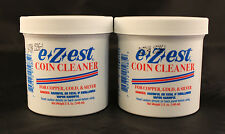 COIN CLEANER - E-Z-EST - COPPER, GOLD, SILVER - 5 Oz. Jar - 2 TOTAL