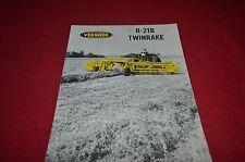 Vermeer R-21B Twin Rake Dealer's Brochure YABE10