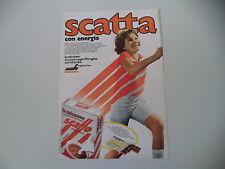 advertising Pubblicità 1974 SCATTO PERUGINA