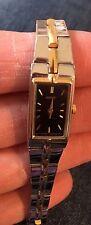 Vintage Ladies SEIKO Two Toned Rectangular Watch 2E20-3241