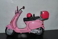 BARBIE VESPA SCOOTER BIKE PINK + HELMET