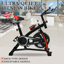 Exercise Bike Indoor Cycling Cardio Workout Health Fitness Stationary Home Gym