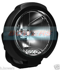 "SIM 7"" INCH BLACK ROUND HALOGEN SPOTLIGHT WITH LED SIDE LIGHT TRUCK VAN CAR 4X4"