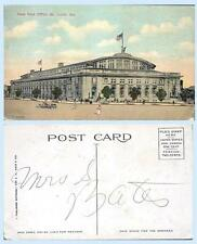 New Post Office St Louis Missouri c1912 Building Postcard - Architecture