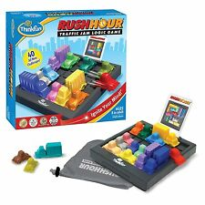 RUSH HOUR TRAFFIC JAM - Logic Puzzle Challenge Board Game - By Think Fun