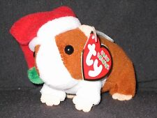 TY GOODIES the GUINEA PIG BABY BEANIE / JINGLE BEANIE  - MINT with MINT TAGS