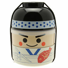 1pc Japanese Kokeshi Sushi Itamae Bento box for Made In Japan #280-266