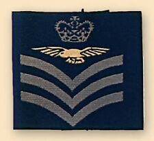 Pair Royal Air Force Flight Sergeant Aircrew Rank Slide