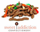 250g Premium Milk Chocolate Covered Snakes - Bulk Bag Lollies - Sweet Addiction