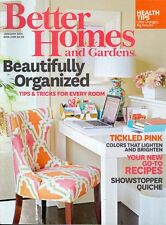 2015 Better Homes & Gardens Magazine: Beautifully Organized Tips for Every Room