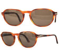 Persol Sonnenbrille / Sunglasses 3053-V 9006 Terra di Siena 52[]29 145 /57 (17)