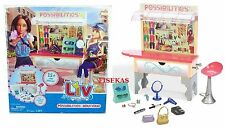 Liv Doll Possibilities Boutique Kiosk and 15+ Piece Accessory Playset 2009 NEW