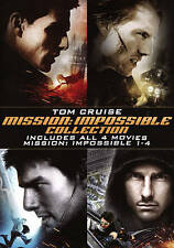 NEW Mission: Impossible Collection 1 2 3 4 1-4 Quadrilogy (DVD, 2015, 4-Disc)
