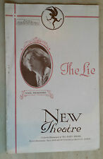 New Theatre Programme.: ROBERT HORTON - SYBIL THORNDIKE in THE LIE