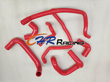For BMW E30 M20 320i/325i 89 90 91 92 Silicone Radiator Hose 1989-1992 RED