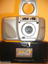 BXD KODAK ADVANTIX C850 DATE~PANORAMA APS FILM CAMERA~27-80MM ASPHERIC LENS 9M13