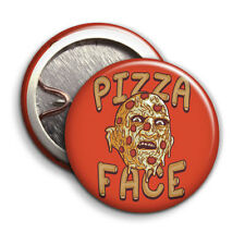 Pizza Face - Button Badge - 25mm 1 inch - Freddy Krueger Nightmare on Elm Street