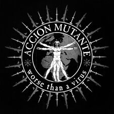 Accion Mutante - worse than a virus, CD, Neuware, Grindcore Crust D-Beat