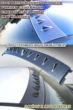 Vor-Style VG Roof Spoiler (Carbon Look) Fits 01-07 Mitsubishi EVO 7 8 9