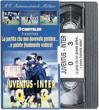 VHS Juventus Inter 0-3 Coppa Italia 13.11. 1996 La partita ... no cd lp mc dvd