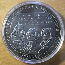 Liberia 2000 5 Dollars, BU, Declaration Of Independence