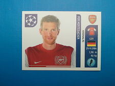 Panini Champions League 2011-12 n.348 Mertesacker Arsenal