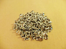 "Double Cap Rapid Rivets 7/16"" Nickel Plated (100 pack)"