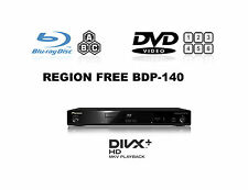Pioneer BDP-140 3D Multi Region Free A B & C (DVD 1-8) Blu-Ray Player SACD