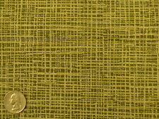 Crypton® Sunbury Textiles Mills Woolen Basket Green Yellow Upholstery Fabric