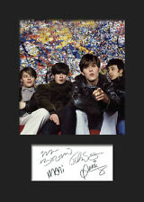 STONE ROSES #3 Signed Photo Print A5 Mounted Photo Print - FREE DELIVERY