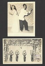 "Singapore vintage photos Chinese & Indian Theater & Entertainment 4"" x 6"" (21)"