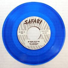 THE CHESSMAN 45 The Keeper of My Love SAFARI Doo Wop RARE Repro BLUE VINYL #D155