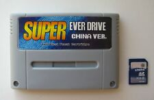 Super Everdrive Nintendo SNES Famicom Flash Cart + 8gb Sd Card NTSC PAL