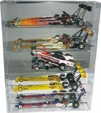 Diecast Dragster Display Case 1:24 Holds 5 - New in Box - Made in the USA