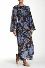 NWT Free People Melrose Night Combo Bell Sleeve Dress 8 $148