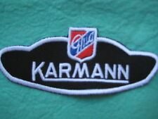 "VW Volkswagen Karmann Ghia Racing Patch 4 5/8"" X 1 7/8 """