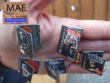 Resident Evil Miniature Video Games Collector's set. Scale 1/6