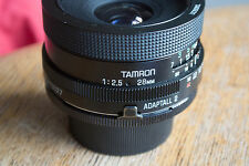 Tamron BBAR MC 28mm 1:2.5 Lens Adaptall 2 (Nikon Fujica screw or Canon FD mount)