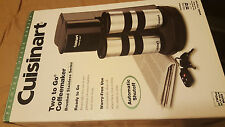 Brand New Cuisinart two to go TGG-500 coffee maker