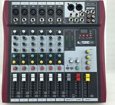 MSM Mixer!!6 Channel table Mixer Home mixing Console with USB New