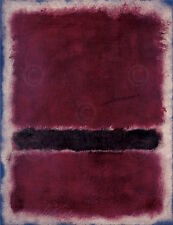 Untitled 1963 Mark Rothko Abstract Contemporary Print Poster 26x32