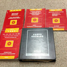 1997 Chrysler LHS CONCORDE VISION Dodge INTREPID Service Shop Repair Manual Set